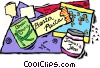Vector Clip Art graphic  of a food items