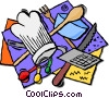 Vector Clipart illustration  of a kitchen ware
