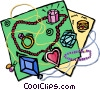 Vector Clipart picture  of a jewelry