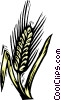grain, woodcut style Vector Clipart illustration