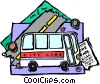 public transportation Vector Clip Art picture