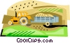 construction equipment Vector Clipart illustration