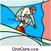 Vector Clip Art graphic  of a Olympic sports