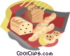 Loaf of bread Vector Clipart illustration