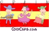 Vector Clip Art picture  of a Spain postcard design