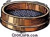 historical, sifter Vector Clipart illustration
