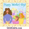 Vector Clipart graphic  of a Happy Mother's Day
