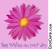 Best Wishes on your day! Vector Clipart illustration