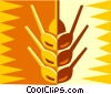 Vector Clipart graphic  of a grain design