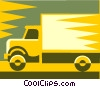 Vector Clipart illustration  of a truck design