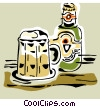 imported beer Vector Clipart picture
