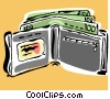 Vector Clipart illustration  of a wallet
