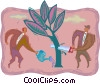 environmental concerns Vector Clipart graphic
