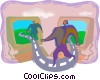 Vector Clip Art picture  of a Business concepts