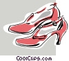 Vector Clipart graphic  of a shoes