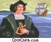 Christopher Columbus Vector Clipart picture