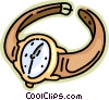 wristwatch Vector Clipart illustration