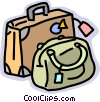 luggage Vector Clipart image