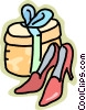 Vector Clip Art graphic  of a shoes
