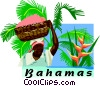 Bahamas Vector Clipart illustration