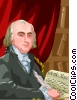 James Madison, 4th U.S. President Vector Clipart image