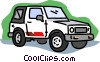 transportation, automobile Vector Clip Art image