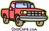 transportation, truck Vector Clip Art graphic
