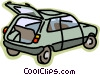Vector Clip Art picture  of a transportation