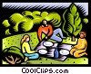 picnic Vector Clipart picture