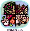 fruit growing industry Vector Clip Art graphic