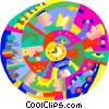 world development Vector Clip Art image