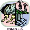 Vector Clipart graphic  of a environmental symbol