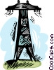 power tower Vector Clip Art picture