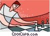 Vector Clip Art picture  of a chess