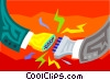symbolic communications Vector Clipart picture