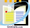 book Vector Clipart illustration
