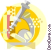 Vector Clip Art graphic  of a scientific symbol