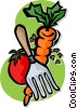 vegetables Vector Clip Art image