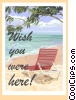 Vector Clip Art image  of a Greeting card
