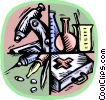 Vector Clipart picture  of a medical instruments