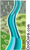 River of dreams Vector Clipart graphic