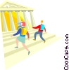 University education Vector Clip Art picture