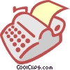 typewriter Vector Clipart picture