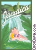 Jamaica, country Vector Clip Art graphic