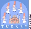 Turkey Vector Clip Art graphic