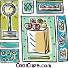 grocery design Vector Clip Art picture