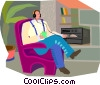 Vector Clipart picture  of a entertainment