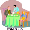 dessert, family Vector Clipart graphic