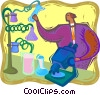 scientist Vector Clipart image