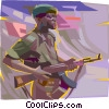 Army, military Vector Clipart illustration